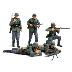 German Infantry Set (French Campaign) - Scale 1/35 - Tamiya - TAM35293