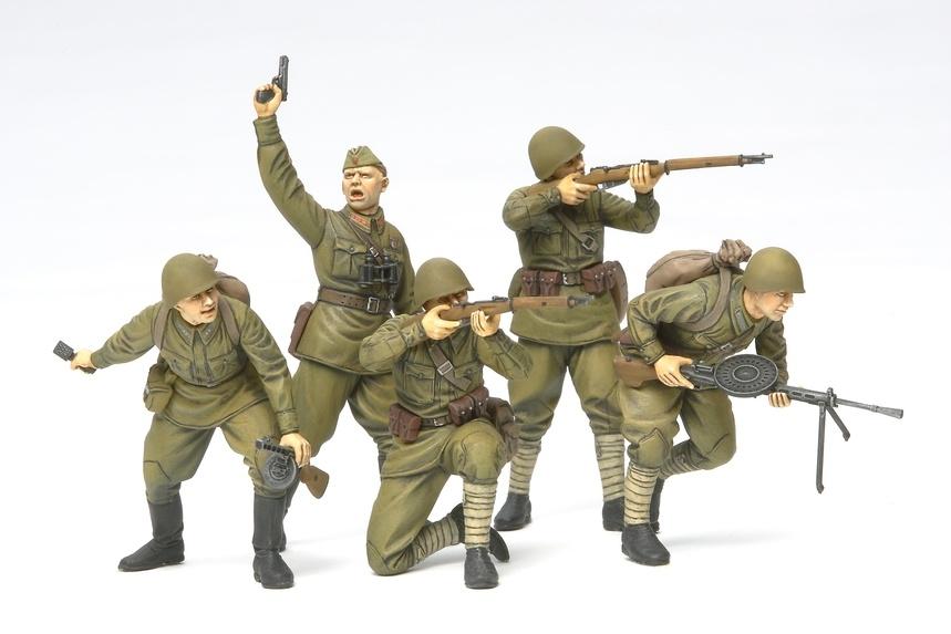 Tamiya Russian Assault Infantry - 1941/1942 - Scale 1/35 - Tamiya - TAM35311