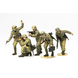 German Africa Corps Infantry - Scale 1/35 - Tamiya - TAM35314