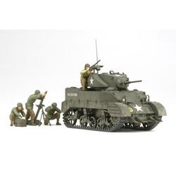 Us Light Tank M5A1 - Pursuit Operation - Scale 1/35 - Tamiya - TAM35313