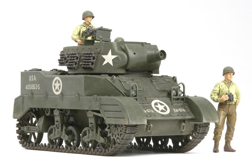 Tamiya Us Howitzer Motor Carriage M8 - Awaiting Orders - Scale 1/35 - Tamiya - TAM35312