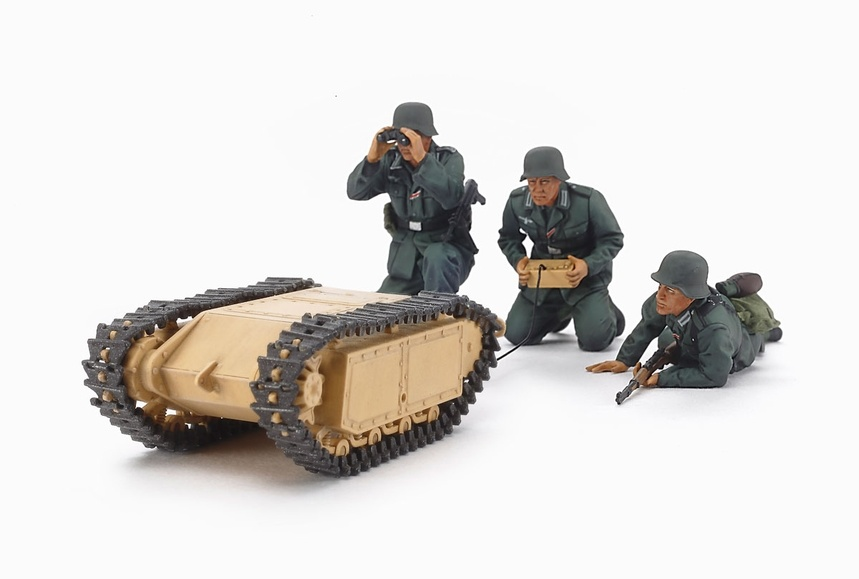 Tamiya German Assault Pioneer Team - With 2 Goliath Sets - Scale 1/35 - Tamiya - TAM35357