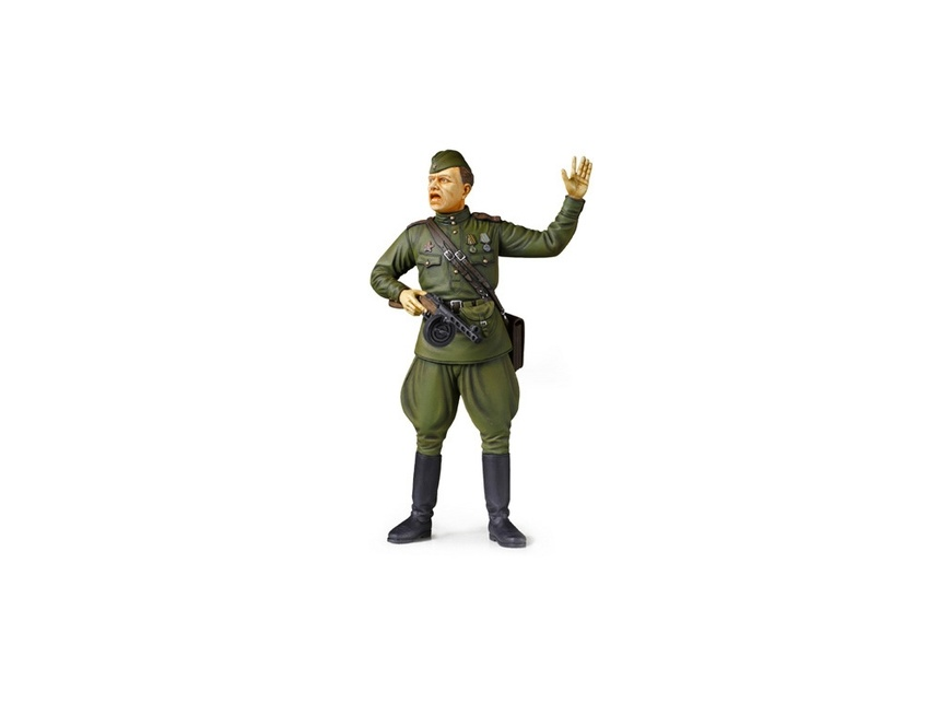 Tamiya WWII Russian Field Commander - Scale 1/16 - Tamiya - TAM36314