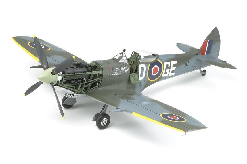 Tamiya Supermarine Spitfire Mk.XVIe - Scale 1/32 - Tamiya - TAM60321