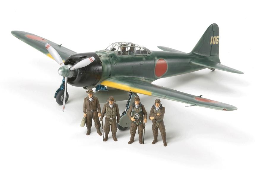 Tamiya Mitsubishi A6M3/3A (Zeke) - Scale 1/48 - Tamiya - TAM61108
