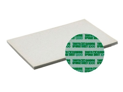 Tamiya Sanding Sponge Sheet - 1000 - Tamiya - TAM87149