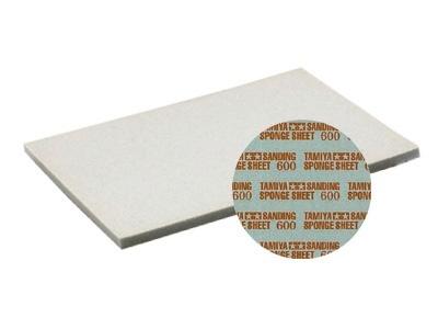Tamiya Sanding Sponge Sheet - 600 - Tamiya - TAM87148