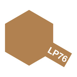 Lacquer Paint LP-76 Yellow Brown DAK 1941 - 10ml - Tamiya - TAM82176