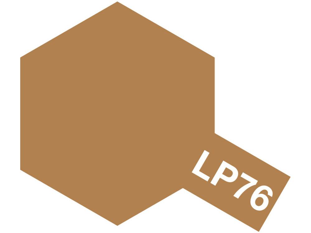 Tamiya Lacquer Paint LP-76 Yellow Brown DAK 1941 - 10ml - Tamiya - TAM82176
