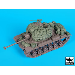 M48A3A Big Accessories Set - Scale 1/35 - Black Dog - BLG-T35162