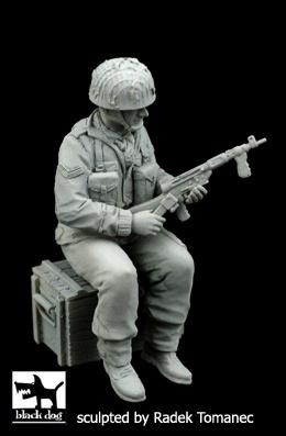 Black Dog British Paratrooper - Scale 1/35 - Black Dog - BLG-F35098