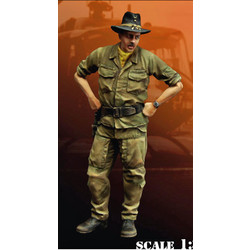 Us Aircav Officer - Scale 1/35 - Bravo 6 - B6-35097