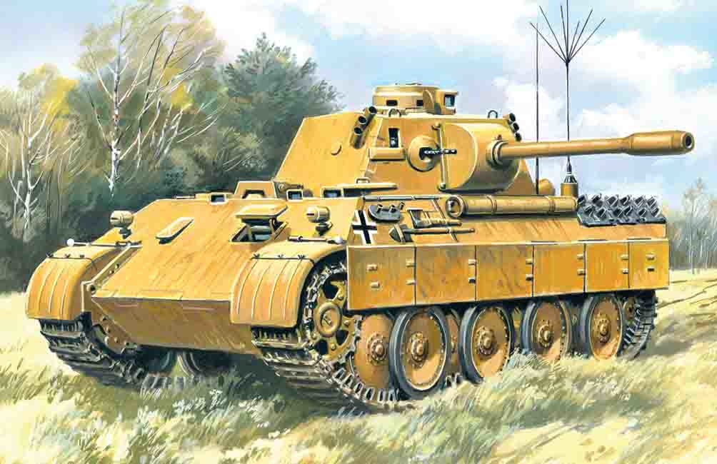 ICM Beobachtungs Panzer Panther  - Scale 1/35 - ICM - ICM-35571