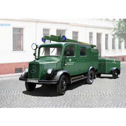 L1500S Llg Fire Truck - Scale 1/35 - ICM - ICM-35526