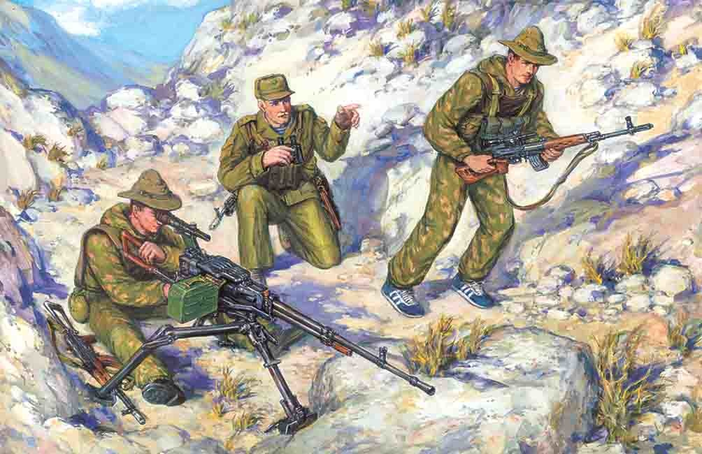 ICM Soviet Sp.Troops Afg.War - Scale 1/35 - ICM - ICM-35501