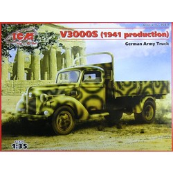 V3000S German Army Truck  - Scale 1/35 - ICM - ICM-35411