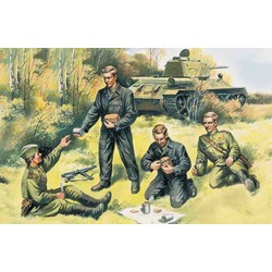 Soviet Tank Crew '43-45  - Scale 1/35 - ICM - ICM-35351