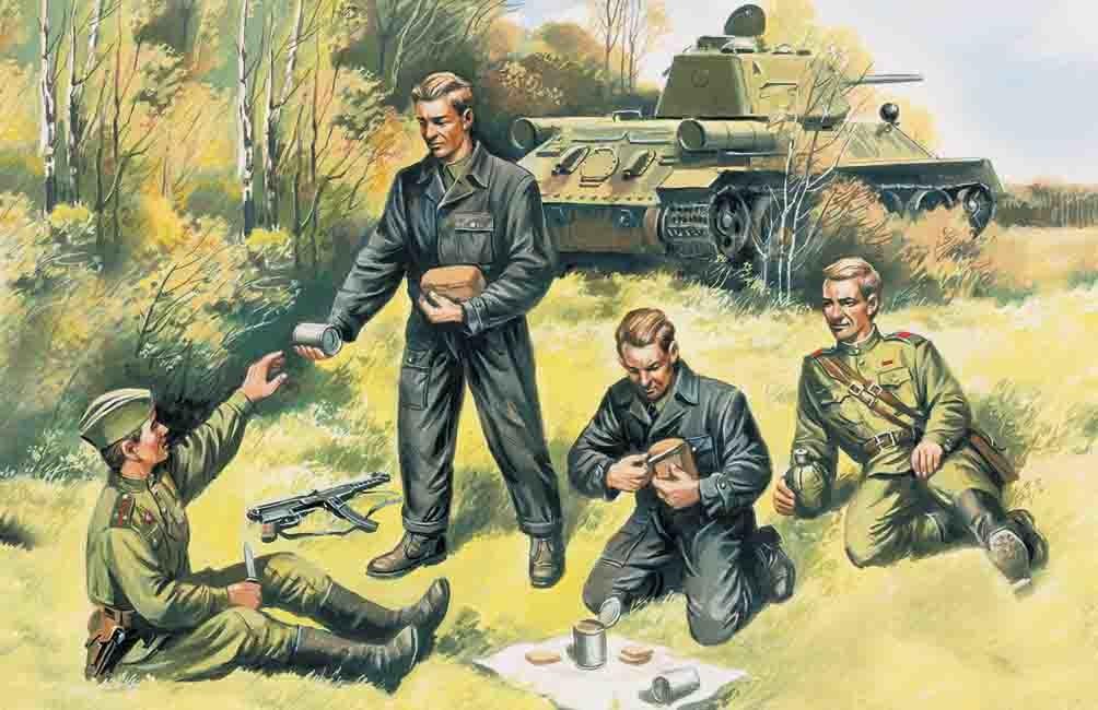 ICM Soviet Tank Crew '43-45  - Scale 1/35 - ICM - ICM-35351