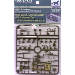 WWII British/Commonwealth Afv Equipment Set - Scale 1/35 - Bronco Models - BRO AB3509