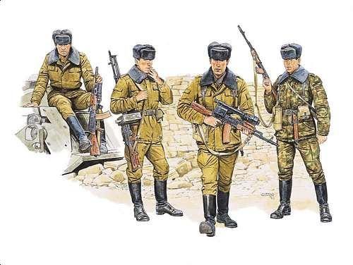 Dragon Soviet Motor Rifle Troops - Scale 1/35 - Dragon - DRN 03008