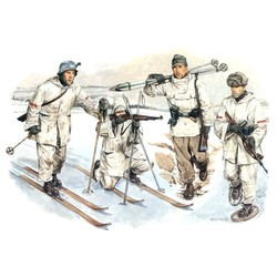 Duitse Ski Troops - Scale 1/35 - Dragon - DRN 06039