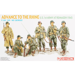 Advance To The Rhine (U.S. 1St Army At Remagen 1945) - Scale 1/35 - Dragon - DRN 06271