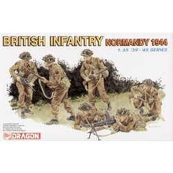British Infantry (Normandy 1944) - Scale 1/35 - Dragon - DRN 06212