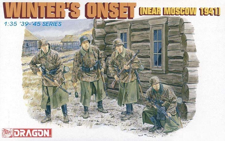 Dragon Winters Onset (Near Moscow 1941) - Scale 1/35 - Dragon - DRN 06162