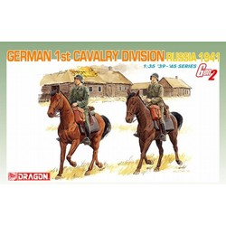 German 1St Cavalry Division (Russia 1941 - Scale 1/35 - Dragon - DRN 06216