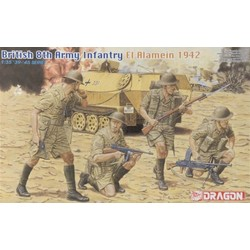 British 8Th Army, El Alamein 1942 - Scale 1/35 - Dragon - DRN 06390