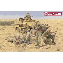 German Afrika Korps Infantry, El Alamein - Scale 1/35 - Dragon - DRN 06389