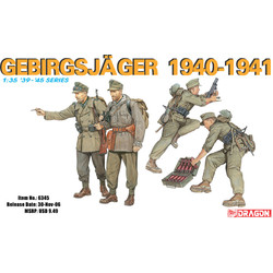 German Gebirgsjäger 1940-41 - Scale 1/35 - Dragon - DRN 06345