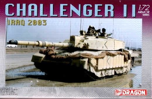 Dragon Challenger 2 (Iraq 2003) - Scale 1/72 - Dragon - DRN 07228