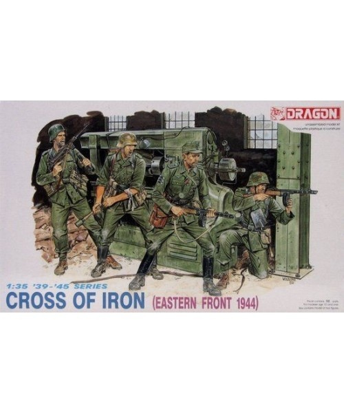 Dragon German Cross Of Iron (Eastern Front) - Scale 1/35 - Dragon - DRN 06006