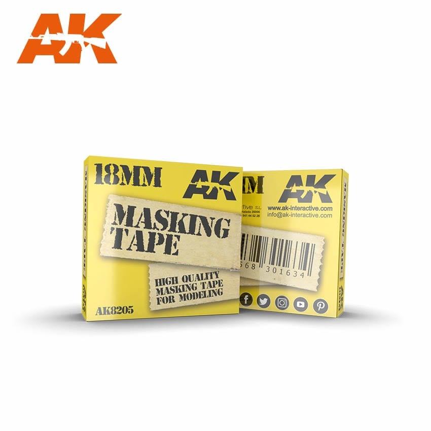 AK-Interactive Masking Tape 18mm - AK-Interactive - AK-8205