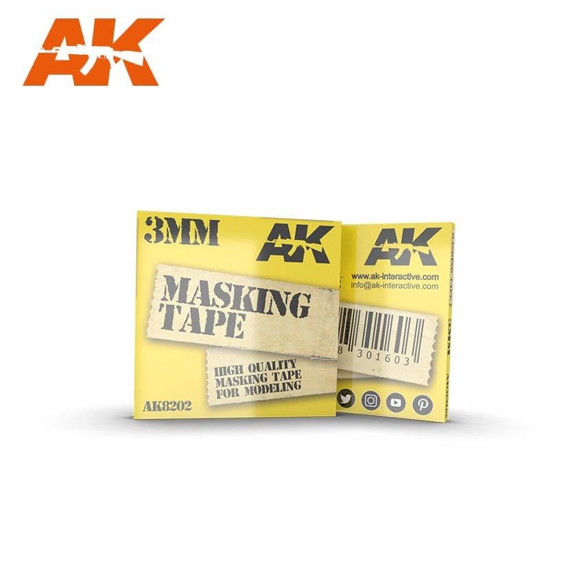 AK-Interactive Masking Tape 3mm - AK-Interactive - AK-8202