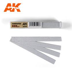 Dry Sandpaper 800 Grit X 50 Stuks