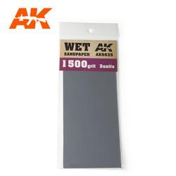 Wet Sandpaper 1500 Grit. 3 Stuks
