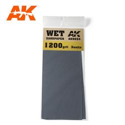 Wet Sandpaper 1200 Grit. 3 Stuks