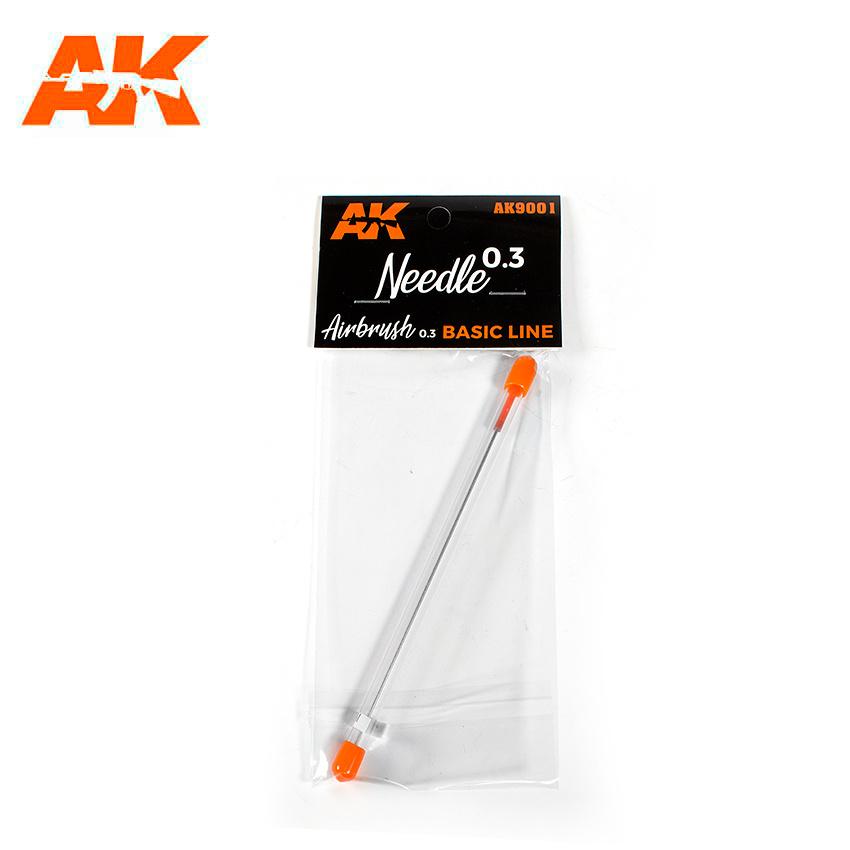 AK-Interactive 0.3 Needle (Airbrush Basic Line 0.3) - AK-Interactive - AK-9001