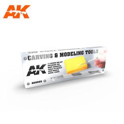 Carving Tools Box - AK-Interactive - AK-9005