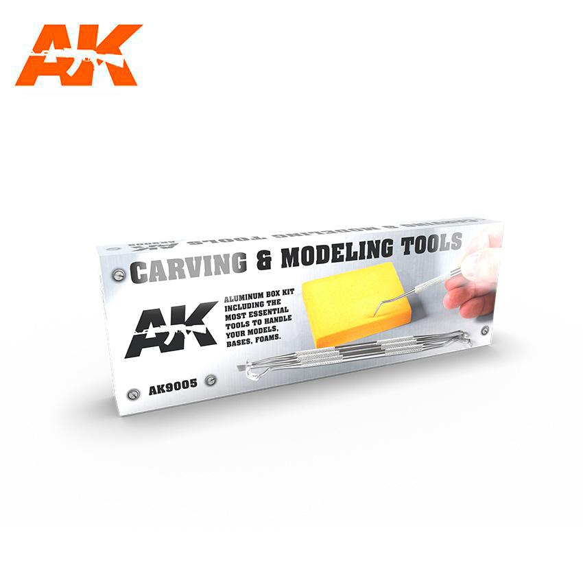 AK-Interactive Carving Tools Box - AK-Interactive - AK-9005