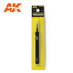 Precise Straight Tweezers - AK-Interactive - AK-9008