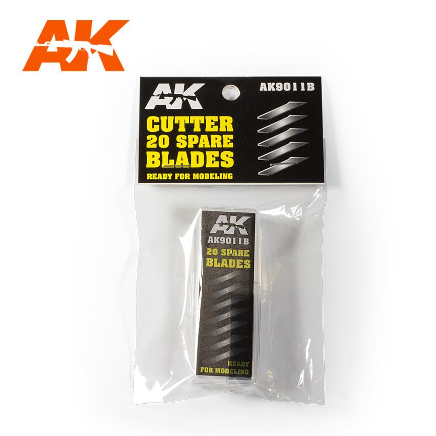 AK-Interactive Cutter 20 Spare Blades - AK-Interactive - AK-9011B