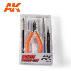 Basic Tools Set - AK-Interactive - AK-9013
