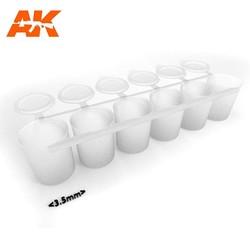 Mix Addict Medium (Empty Paint Strip 6X25 Ml) - AK-Interactive - AK-619
