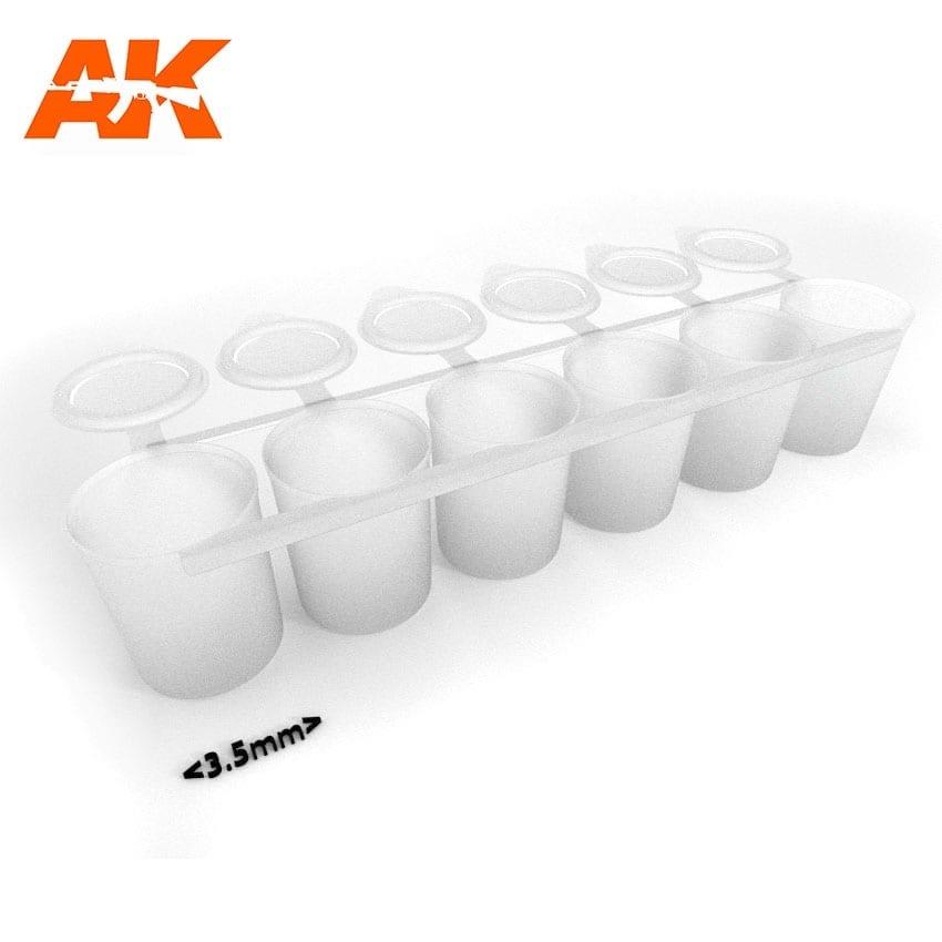 AK-Interactive Mix Addict Medium (Empty Paint Strip 6X25 Ml) - AK-Interactive - AK-619