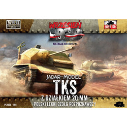 Polish TKS reconnaissance tank - Scale 1/72 - First to Fight - FIS001