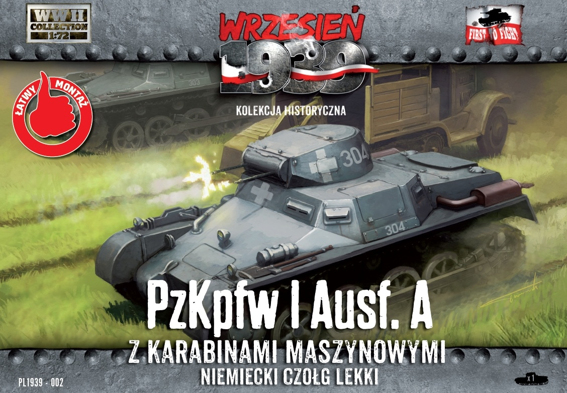 First to Fight Pz.Kpfw.I - Scale 1/72 - First to Fight - FIS002