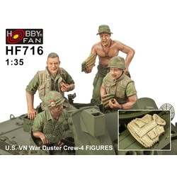 U.S.V.N. War Duster Crew - Scale 1/35 - Hobby Fan - HFN-HF716